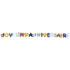 guirlande joyeux anniversaire 19 m