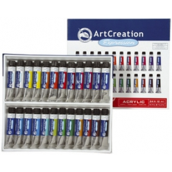 Acrylique ArtCreation Expression, set de 24x12 ml