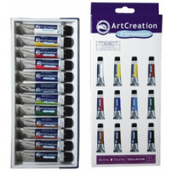 set de Gouache ArtCreation Expression, 12ml, set de 12