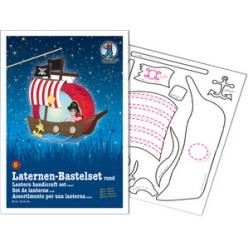 kit de bricolage pour lanterne bateau pirate