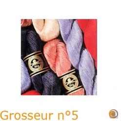 Lot de 4 écheveaux de coton perlé DMC spécial Hardanger (art. 115EA N°5), 25g