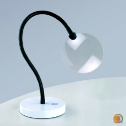 Loupe flexible Daylight sur socle de table