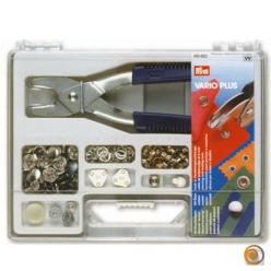 Set Vario Plus : malette pour bouton pression
