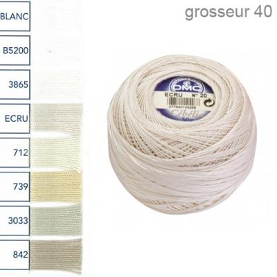 ruedufil fil crocheter c b lia grosseur 40 50g sur commande dmc. Black Bedroom Furniture Sets. Home Design Ideas
