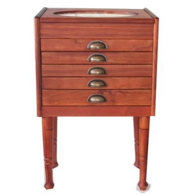 ruedufil commode sur pied personnalisable coloris miel csm. Black Bedroom Furniture Sets. Home Design Ideas