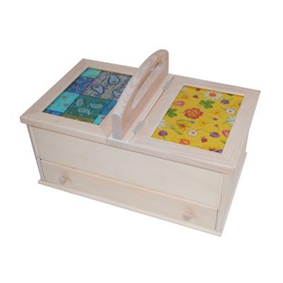 Les boites en bois pour rangement mat riel de couture for Boite de rangement couture