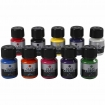peinture glass ceramique assortiment 10x35 ml