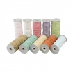 ficelle papier coloris pastel assortiment 10x250gr