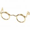 lunettesmtaldor25mm10pices