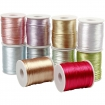 queue de rat satinee 2 mm assortiment pastel 10x50m