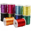 queue de rat satinee 2 mm assortiment classique 10x50m