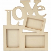 cadre photo love 197x16 cm 10 pieces