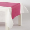 chemin de table papier rose fuschia 35 cm 10 m