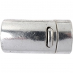 fermoir magnetique argent antique 26 mm