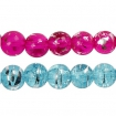 perlesenverrefashionmixgraffitetransparent8mm 88pcs