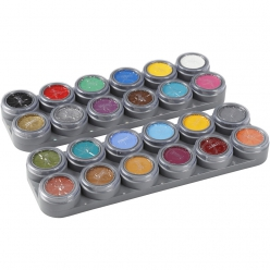 maquillage a base deau grand set de 24x15 ml