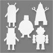 formesencartonrobots16pices