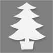 arbredenolencartonblanc215cm25pices