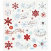 stickersscintillantscristauxneige