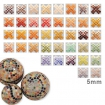 5mm mini mosaique liliput 1000 pcs