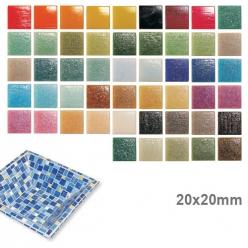 Mosaïque en verre Murano 20x20mm (destock)