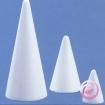cones en polystyrene pleins hauteurs de 6 80cm