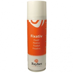 Spray pour fixer, 300 ml pastel, craie, fusain