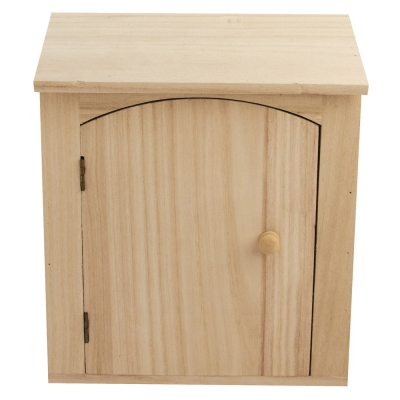 petite armoire clefs en bois 18x5x22 cm rayher. Black Bedroom Furniture Sets. Home Design Ideas