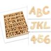 lettres en bois 6cm