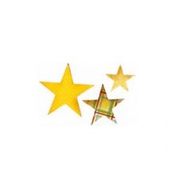 Dies Bigz de Sizzix: Étoiles