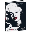 agenda scolaire marylin star 20142015